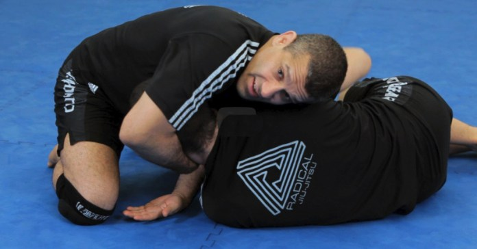 No-Arm Bravo or D'Arce Choke in the world of Brazilian Jiu-Jitsu.