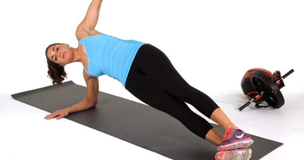 How to Do a Side Plank with Hip Lifts