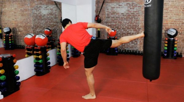 How to Do a Sidekick in Kickboxing