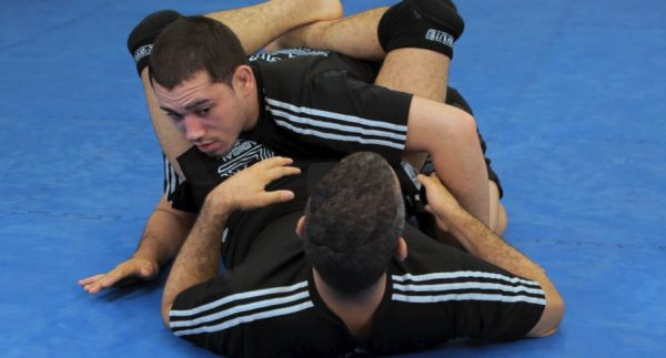 How to do an Inverted Arm Lock from a Triangle Hold