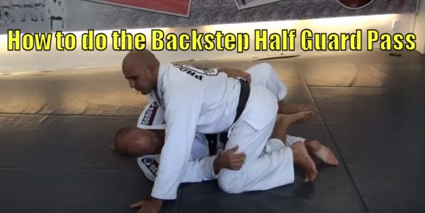 How to do the Backstep Half Guard Pass