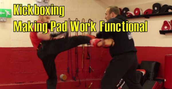 How to train Kickboxingwith a pad target