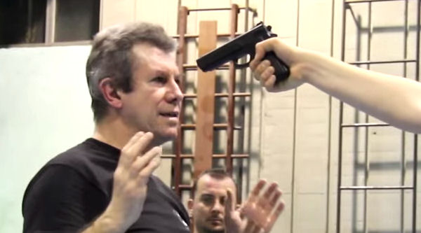 How to do a Gun Disarm in Krav Maga