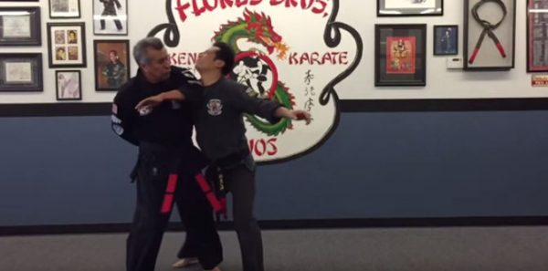 How to do Locked Wing Orange Self Defense Technique
