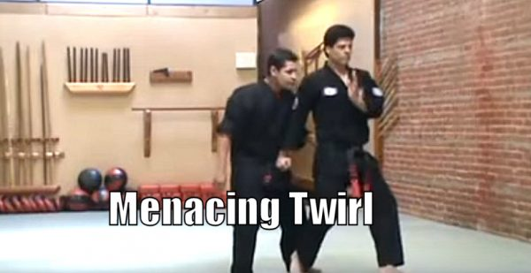How to do Menacing Twirl Self defense technique