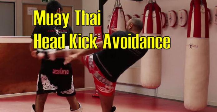 How to avoid a Head Kick Muay Thai