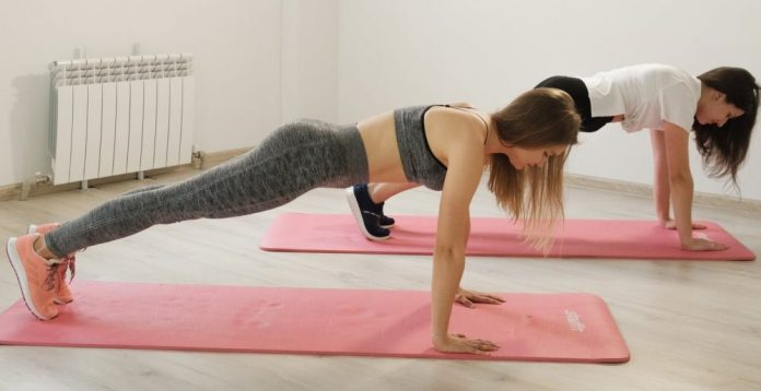 The Plank Pose in Yoga