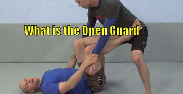What is the Open Guard in Brazilian Jiu Jitsu