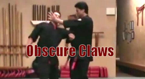 Obscure Claws self defense technique