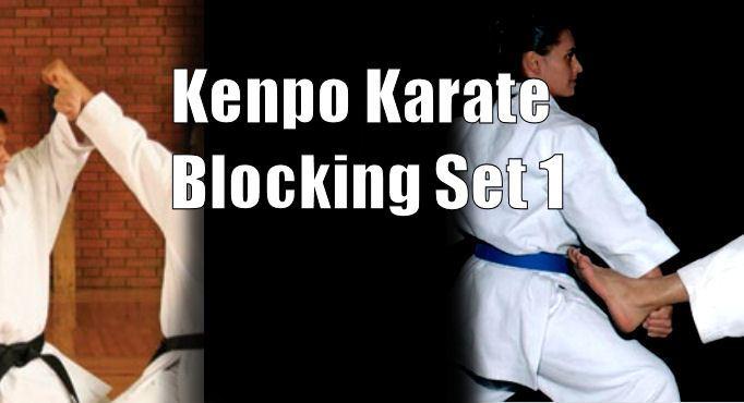 American Kenpo Blocking set 1
