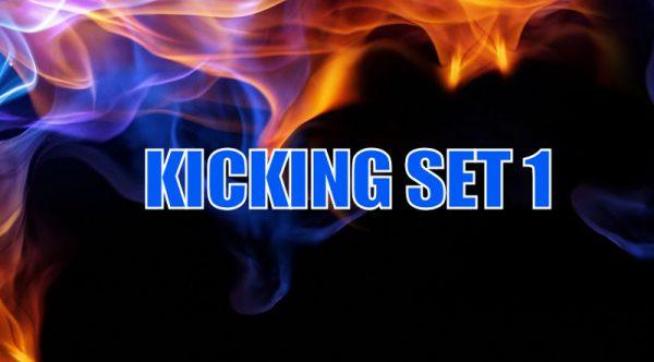 How to do Kicking set 1 in American Kenpo Karate