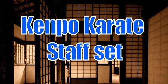 Kenpo Staff set