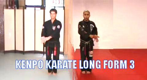 American Kenpo Karate Long form 3