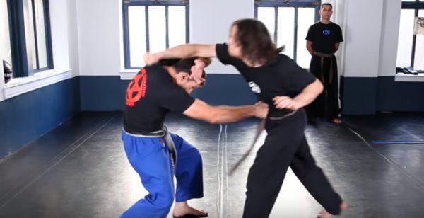 Krav Maga Outside Defense against Punches
