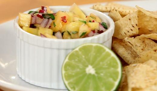Make Pineapple Salsa