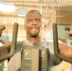 Terry Crews workout