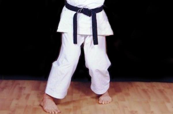 Sanchin Dachi in Karate