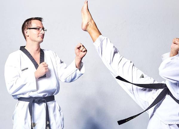 Taekwondo Front Kick