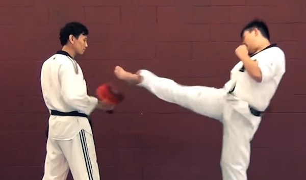 This is Skipping Double Roundhouse Kick