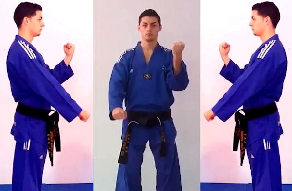 The Scissor Block in Taekwondo