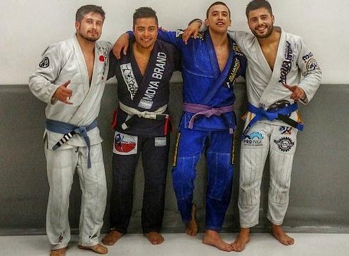 Meeting new friends with Jiu Jitsu