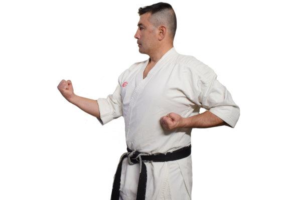 Master Ura Zuki in Karate