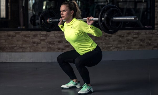 The Squat for women