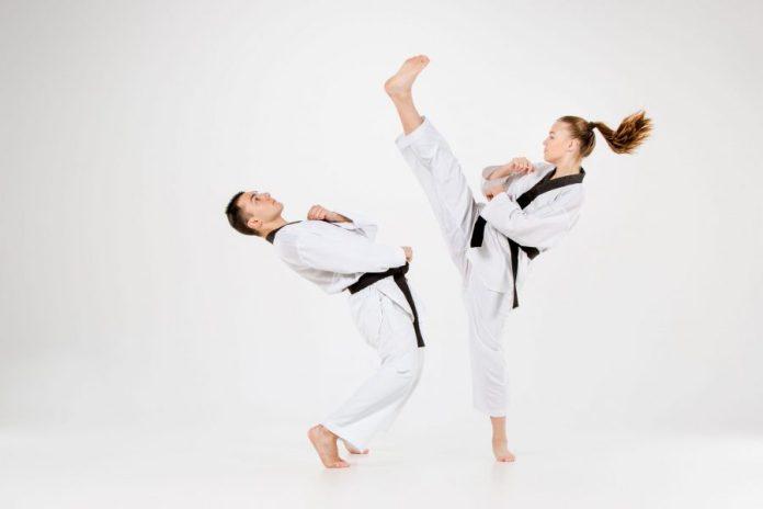 The Axe Kick in Taekwondo