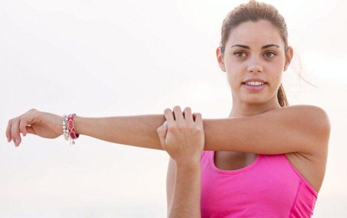 Arm Stretching