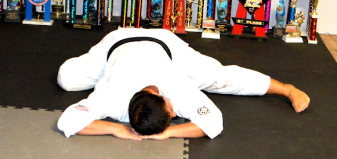 Stretching and elongation of abductors and leg
