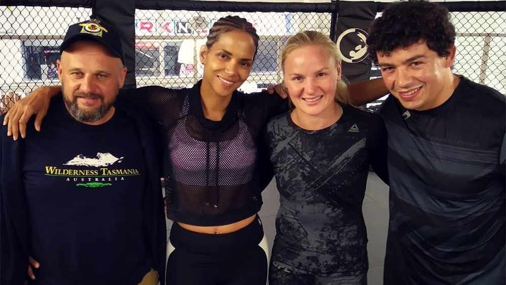 Halle Berry told about a UFC fighter from Kyrgyzstan who had broken her bones