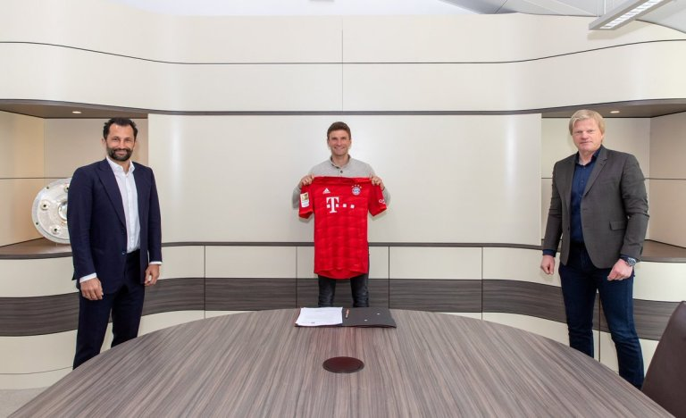 Thomas Müller. Not going to renew the contract in spring