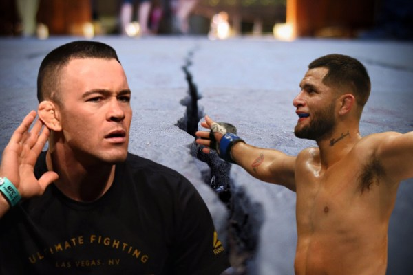 "Colby Covington ""If I see Masvidal on the street, I will stick his head in concrete"""