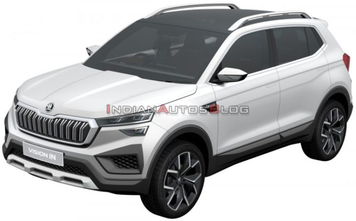 The network showed the new Skoda crossover for only $ 13,000