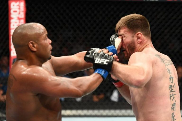Daniel Cormier on eye attacks with Stipe Miocic