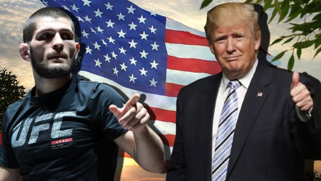 Donald Trump named Khabib Nurmagomedov the best fighter in the world