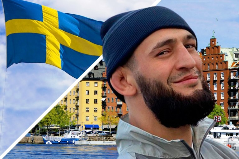 Khamzat Chimaev told why he represents Sweden in the UFC