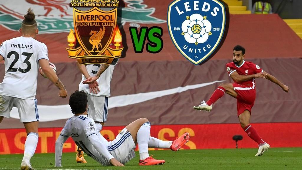 Liverpool vs Leeds. Goal video and match review