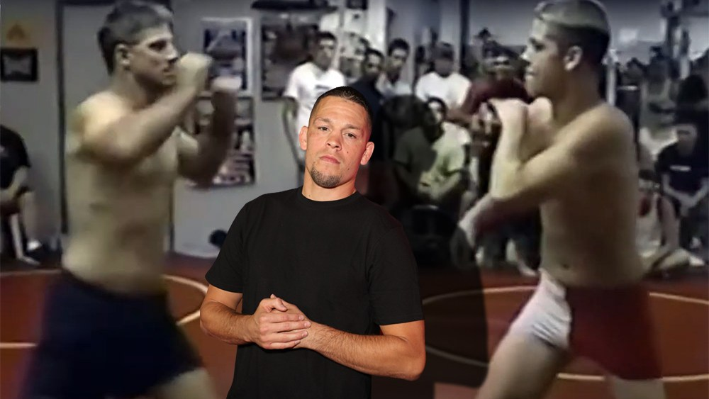 Nate Diaz's first fight has been published - he fought with his bare fists