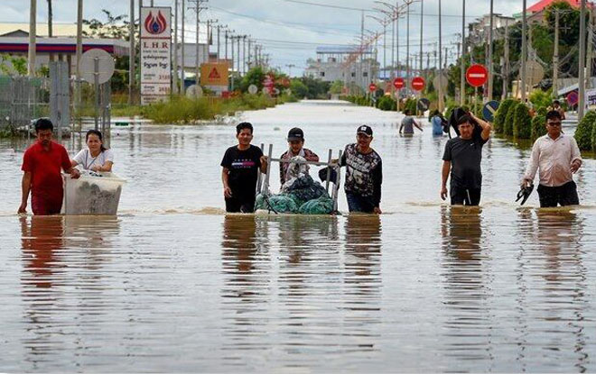Floods in Cambodia: 43 people killed, more than 594 thousand injured