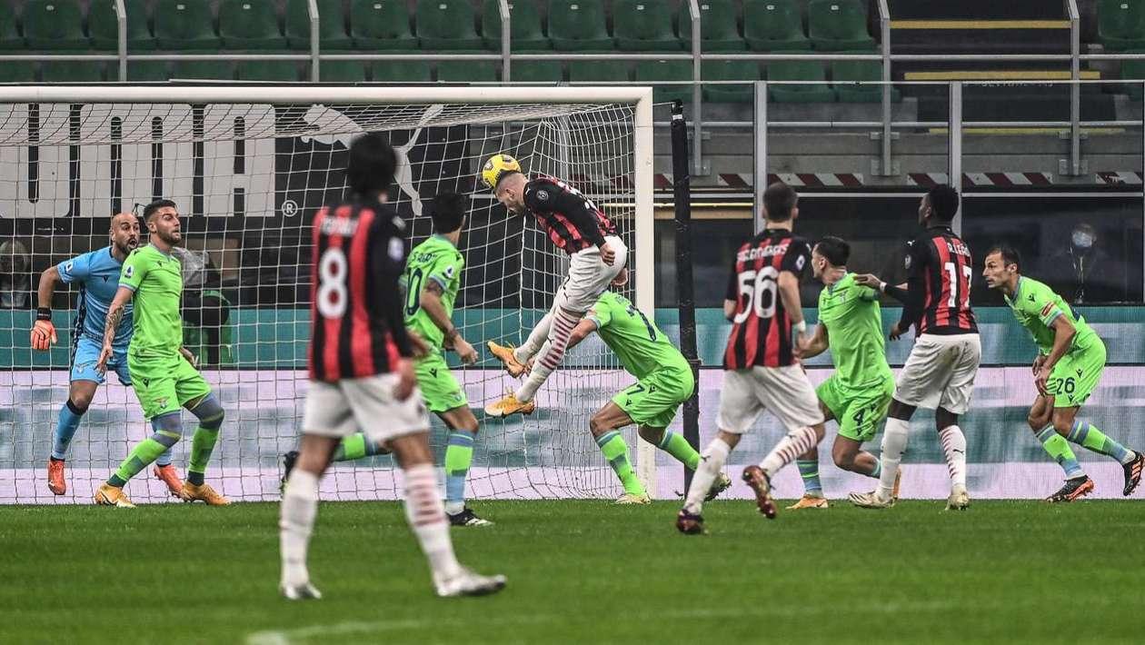 Milan beat Lazio in a dramatic match