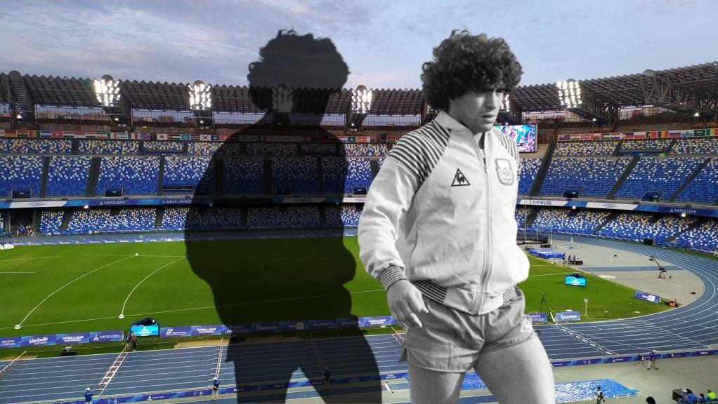 Napoli's home stadium will be officially renamed in honor of Maradona for the team's next home game