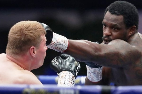 Alexander Povetkin's knockout in a fight with Dillian Whyte named the best in 2020 according to the WBC