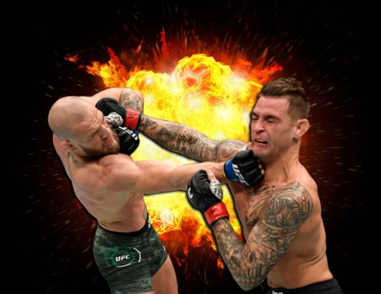 Conor McGregor vs. Dustin Poirier. UFC 257. Video fight and review.