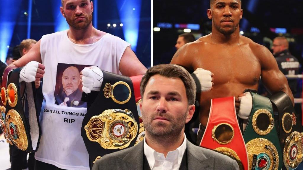 Eddie Hearn told in which country the fight between Anthony Joshua and Tyson Fury can take place