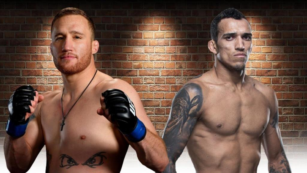 Justin Gaethje may face Charles Oliveira in the next fight