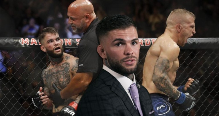 Cody Garbrandt plans to split the octagon with T.J. Dillashaw in the future again.