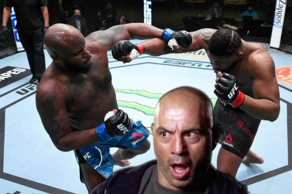 Joe Rogan on Derek Lewis knockout.
