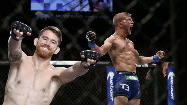 Cory Sandhagen received an offer to fight T.J. Dillashaw