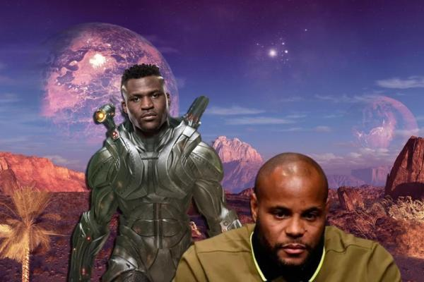 Daniel Cormier Francis Ngannou looks like a man from another planet